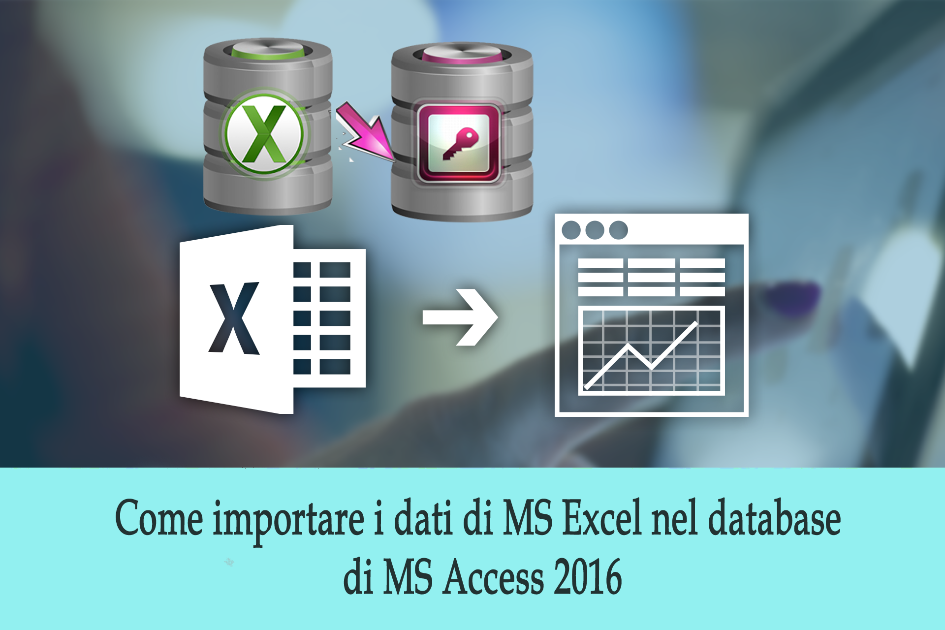 importare i dati di Excel in database MS Access