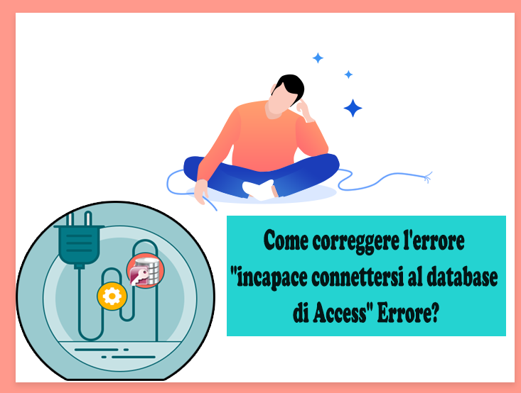 incapace connettersi al database di Access